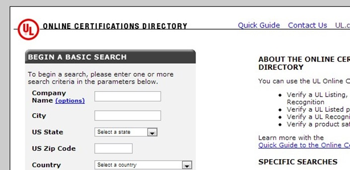 How To Check SKB\'s Certifications Online At UL.comRoller Shutters ...