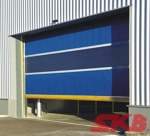 Safety PVC Roll Up Door 2