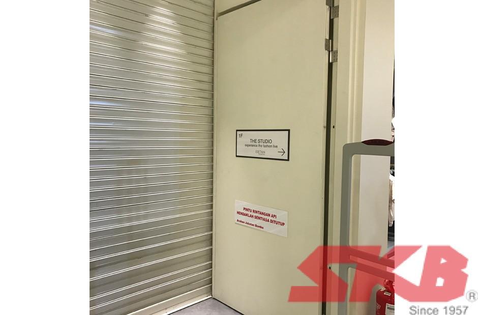 firerated-steel-door